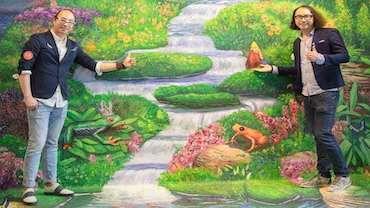 广州万氏兄弟:未来想做3D错觉艺术版的敦煌壁画