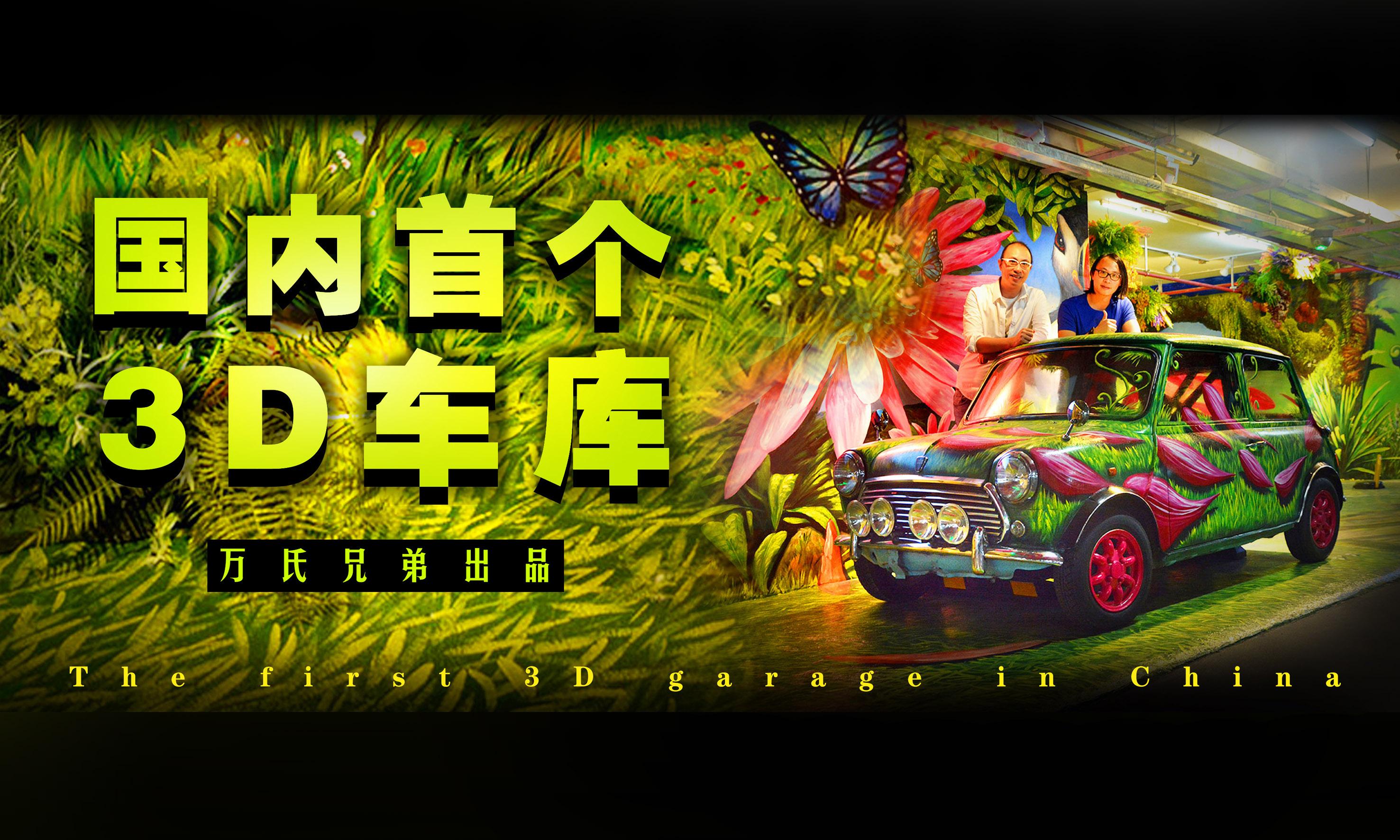 国内首个3D车库《绿野仙踪》