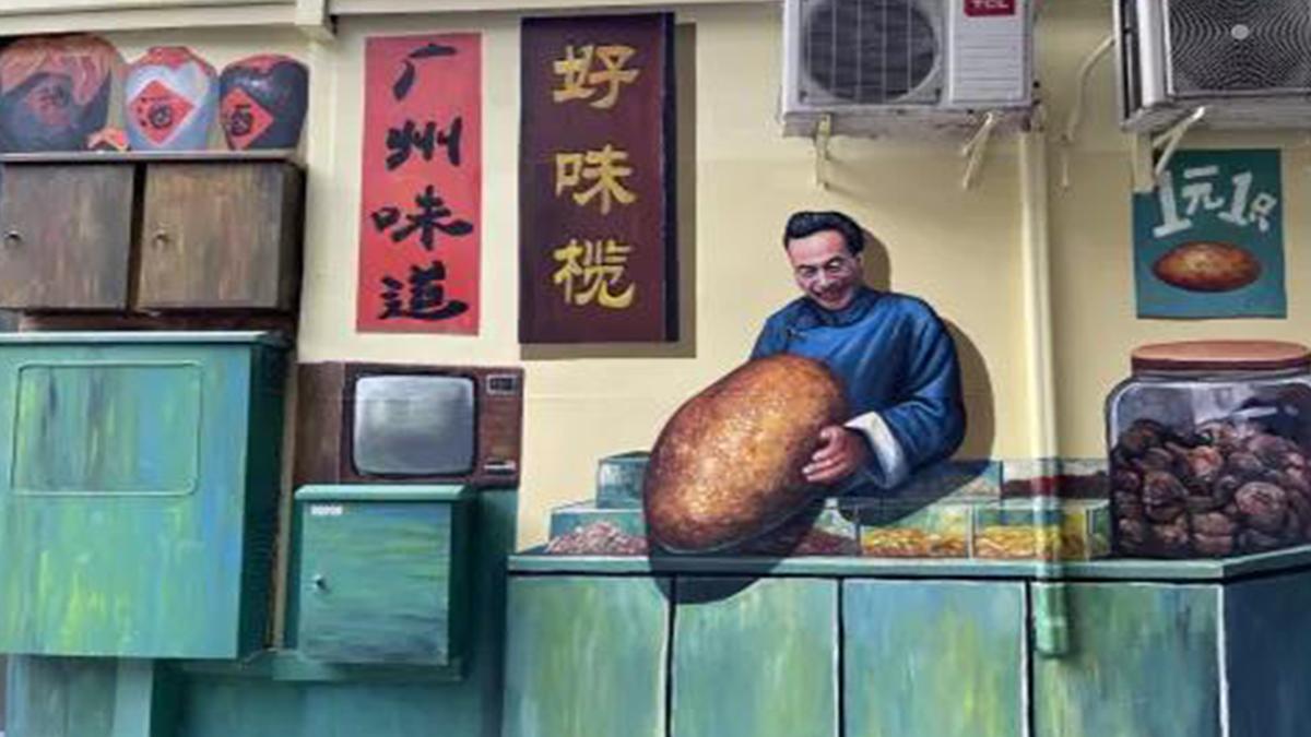 广州这条路上的网红涂鸦墙,把商家的生意都带火了