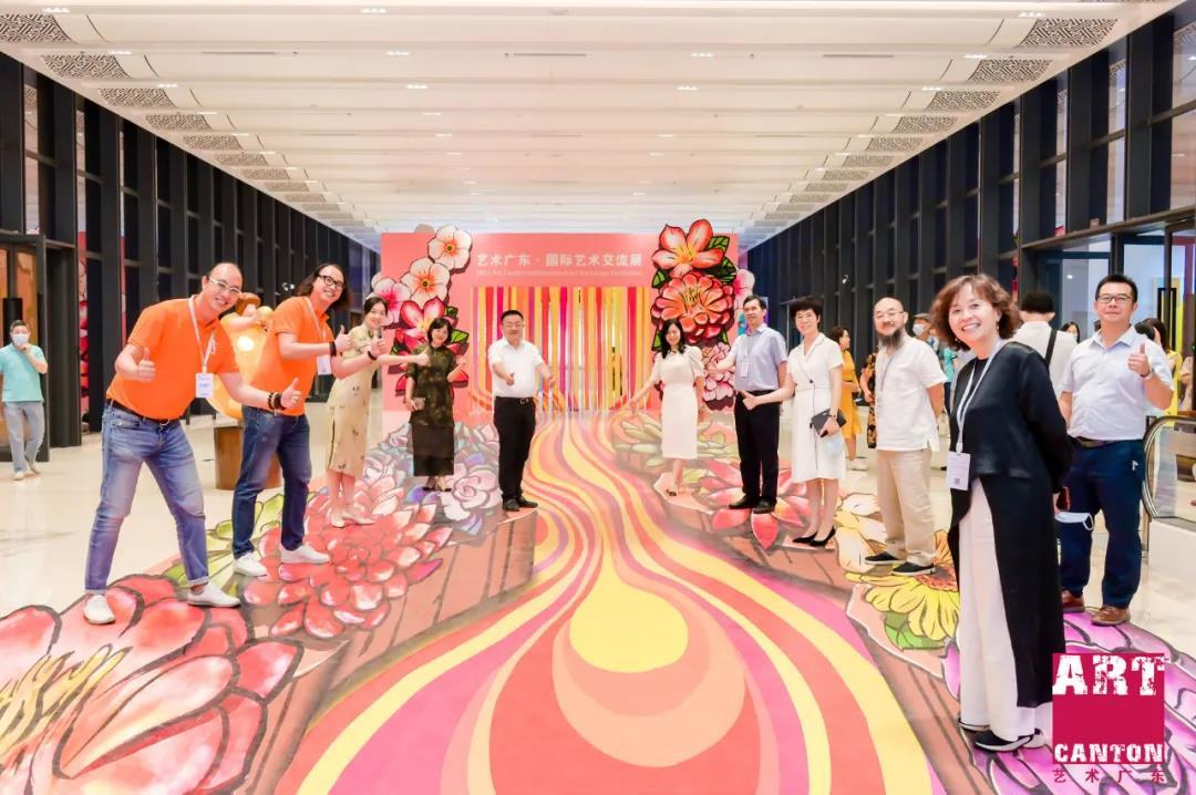 2021年艺术广东•国际艺术交流展正式开幕   万氏兄弟